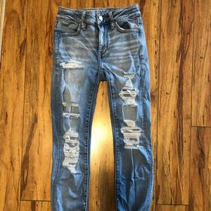 American eagle jeans size 00 short